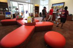 PECS school year kicks off with new gym, media center