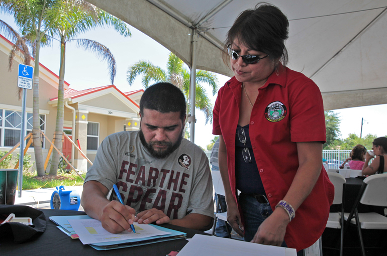 Immokalee families move home